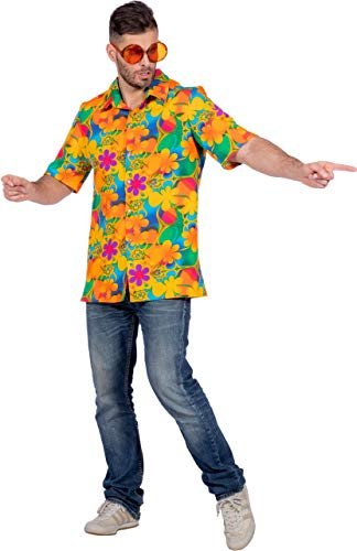 Tanz Karibik Kostüm - Wilbers & Wilbers Hawaii Hawaiihemd Karibik Hula Strand Aloha Party Hemd