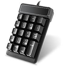 19teclas teclado de Numberic Wired