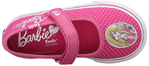 Keds KE Barbie Double Up Mädchen Klett Sneakers Pink