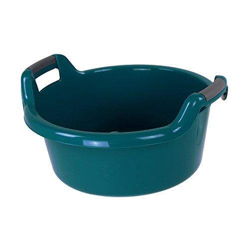 Curver Wäschewanne 27L 53,5x51x20,5cm Wäscheschüssel Wäschekorb Wäsche Waschküche blau