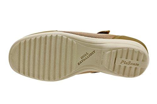 Scarpe donna comfort pelle Piesanto 8990 classiche basse soletta estraibile comfort larghezza speciale Arena