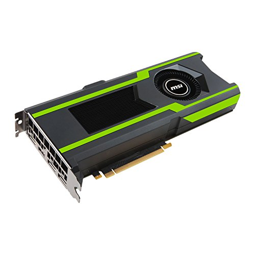 MSI GeForce GTX 1080TI Aero OC 11GB Nvidia GDDR5X 3x HDMI - 2