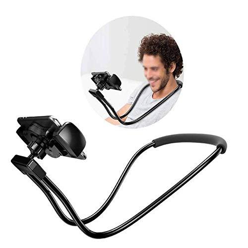 Maxku Tablet Halter Mobiltelefon Halter Auflage Standplatz Halsketten lange Arm justierbare faule Klammer für iPhone iPad Luft Tablette 4-10 Zoll -