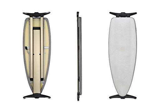Mabi 2144 Bügeltisch Alu Design 1000 – Streckmetall-Bügeltisch – Hochwertiges Alugestell – Leicht – Portabel – Groß – Standfest – Kettler Spezial-Alu-Bügelbezug – Frei Positionierbare Bügeleisenablage - 4