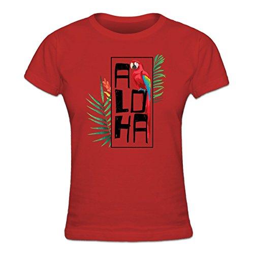 Shirtcity-Camiseta-de-mujer-Aloha-Parrot-by