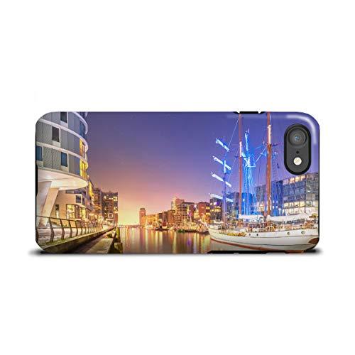 artboxONE Apple iPhone 7 Tough-Case Handyhülle Sandtorhafen II von Jan Hartmann