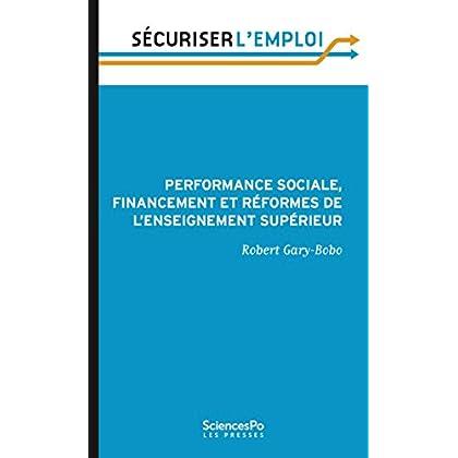Performance sociale, financement et réformes de l'enseignement supérieur (Sécuriser l'emploi)