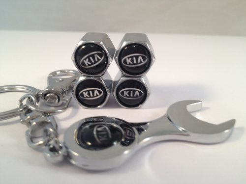 kia-car-wheel-tyre-valve-dust-caps-covers-spanner-keying-set-of-4