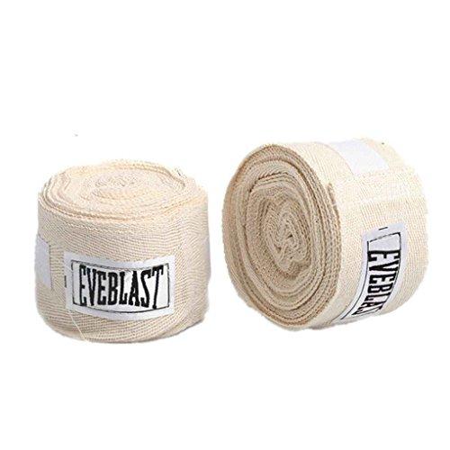 Thai-baumwoll-wrap (2 Rollen 3M Cotton Sports Strap Boxbandage Sanda Muay Thai Taekwondo Handschuhe Wraps Pandiki)