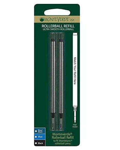 monteverde-m222bk-blister-2-refill-per-penna-roller-montblanc