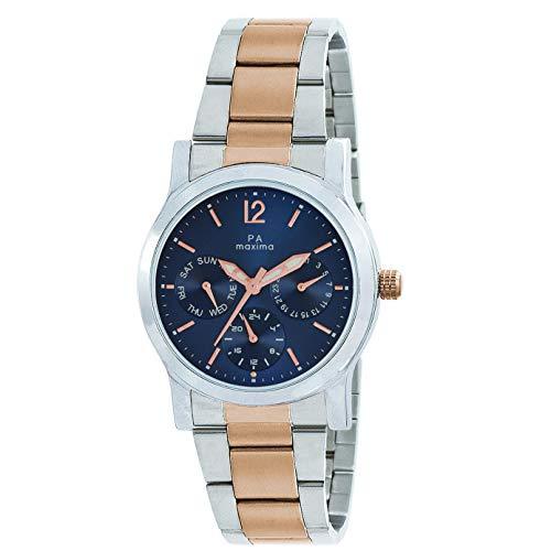Maxima Analog Blue Dial Women's Watch-O-50040CMLT
