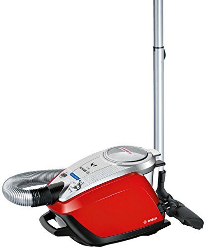 Bosch ProAnimal Aspiradora sin Bolsa 3 L, 950 W, 74 dB, 575 W, 3 Liters, Decibelios, Rojo