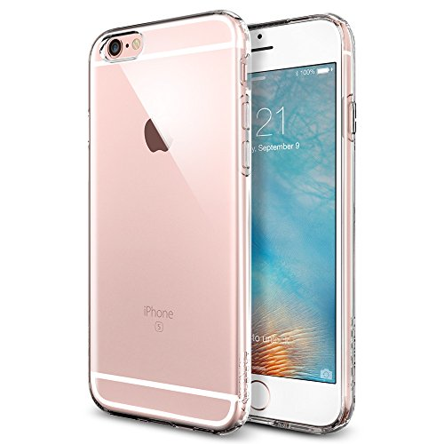 Coque iPhone 6s, Spigen Coque iPhone 6 / 6s [Capsule] SOFT-FLEX - [Crystal Clear] Etui TPU Premium Soft Flexible TPU / Ultra Grip - Crystal Clear (SGP...