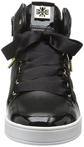 Högl 2-10 5320, Baskets Basses Femme Noir - Schwarz (0100)