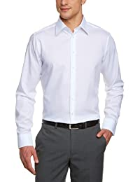 Schwarze Rose Herren Slim Fit Business Hemd KENT SR
