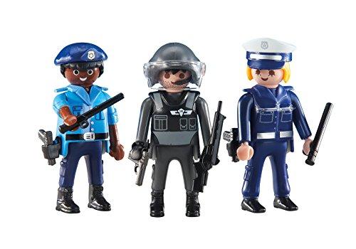 Playmobil 6501. 3 Policias