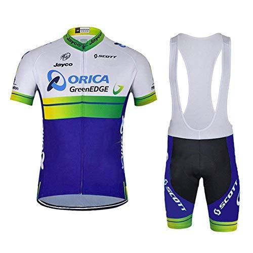 f99370a83ab5 logas Completo Abbigliamento Ciclismo Uomo Estive Magliette Ciclismo  Maniche Corte +Pantaloncini Ciclismo Uomo