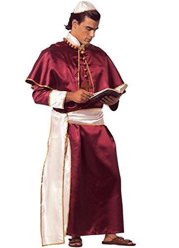 Erwachsene Für Kostüm Kardinal - Unbekannt Kardinal Kostüm für Erwachsene