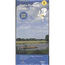 Waterkaart L Grote Rivieren Oost  1 : 50 000 (ANWB waterkaart (L))