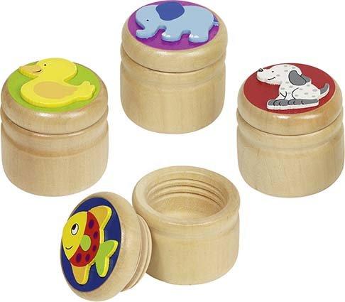 Milchzahndose 4 cm Durchmesser Ente oder Hund
