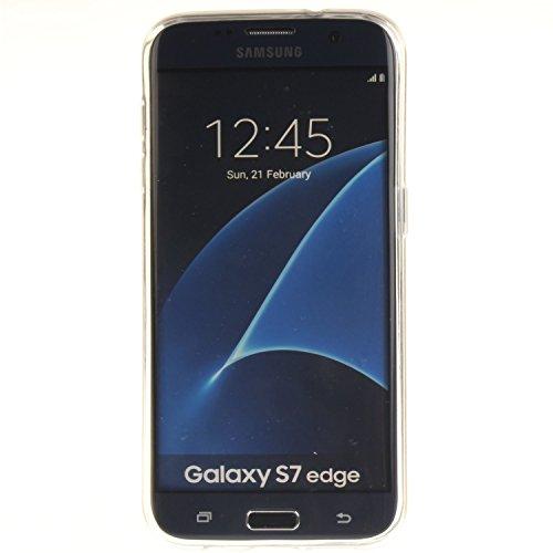 Aeeque iPhone 5S/SE/6/6S (Plus), Samsung galassia S3/S4/S5/S6/S6 bordo/S7/S7 bordo/A3/A5/(2016)/J1/J5/G360/G530, Sony Xperia Z3/M4, Huawei P8 Lite copertura dellalloggiamento sacchetto della copertur Lets Play