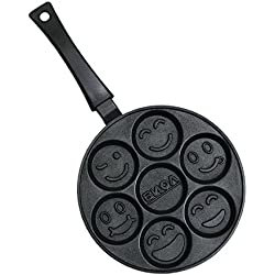 Smiley Faces Crepes Pancake Pan 24 cm Non Stick BIOL
