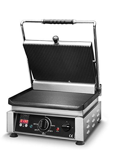 barbecue-gourmet-double-de-caso-grill-de-contact-professionnel-avec-rainures-de-2500-w-lisse-surface