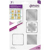 Gemini die-create-a-card-doily Patchwork, silber, verschiedene