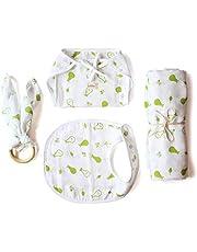 Shumee Organic Cotton 4piece New Born Baby Gift Set