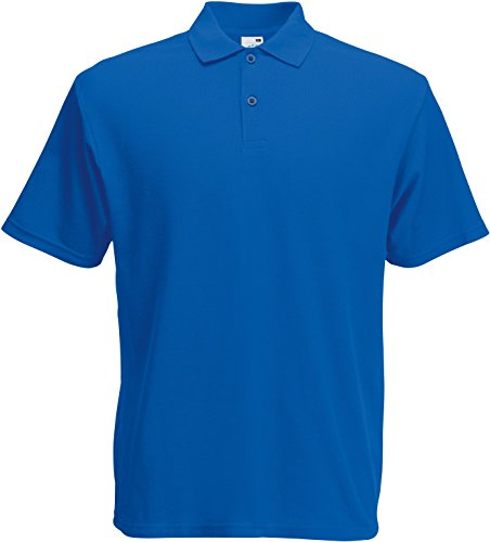 Fruit Of The Loom Screen Stars Original Polo Shirt für Männer Blau - Königsblau
