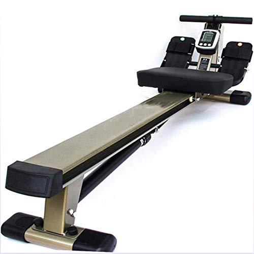 DRLGC Rücken-Fitness-Rudergerät, Silent-Rudergerät, Multifunktions-Rudergerät, Heim-Fitness-Studio Fitness Aerobic-Training Leichtgewichtler Sparen Sie Platz