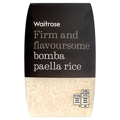 Riz Bomba Paella Waitrose 500g