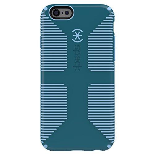 Speck Grip CandyShell harte Schutzhülle für Samsung Galaxy S7 schwarz/slate grau atlantic grün/periwinkle blau