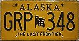 USA Nummernschild ALASKA ~ US Kennzeichen ~ LICENSE PLATE ~ Blechschild