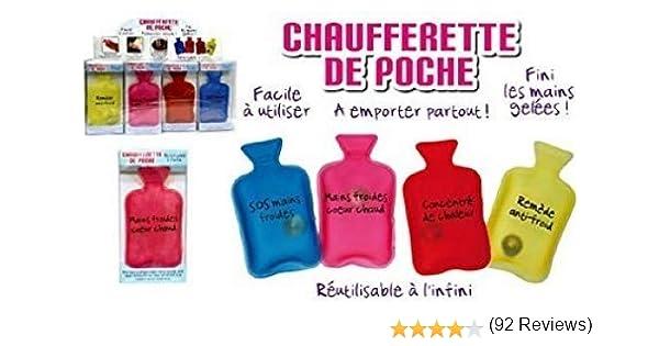 Ski. Chauffe main pour Sports Mini Bouillotte Chaufferette de Poche - Jaune