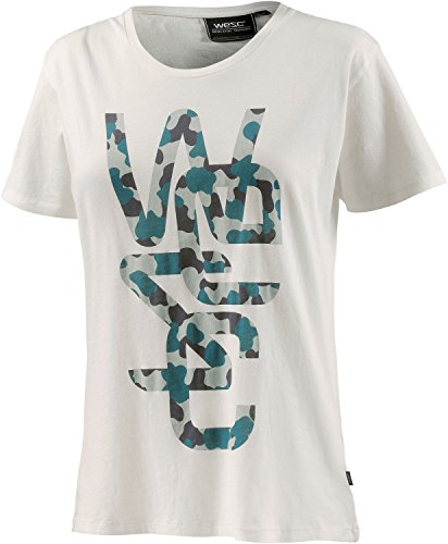 WESC–Camiseta, Blanco Hueso