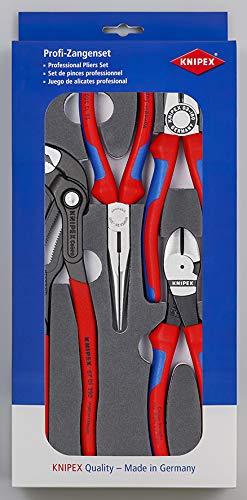 Knipex 00 20 01 V15 Zangen-Set Basic in Schaumstoffeinlage