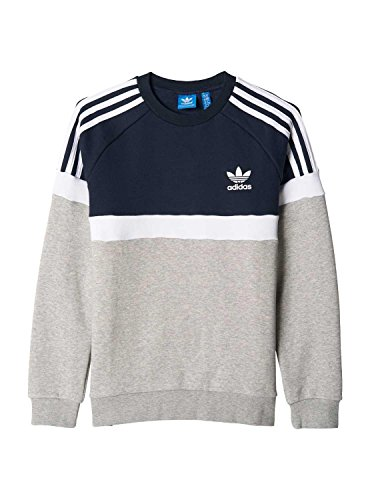 adidas-bk6223-sweat-shirt-garcon-gris-fr-164-taille-fabricant-164