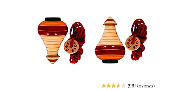 Desi Toys spinning tops classic toys traditional games impulse kids toys Vintage toys great fun handcrafted Indian toys Lattu