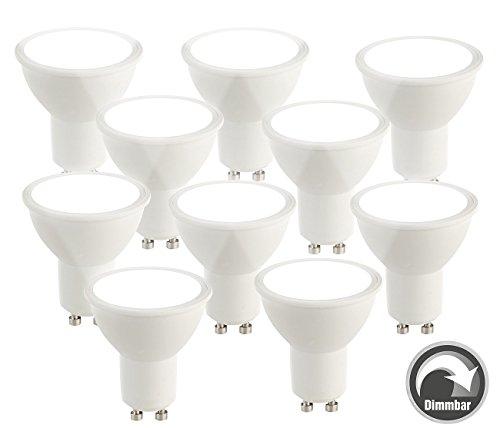 Luminea LED Lampen: LED Spot GU10, 6 Watt, 480 Lumen, A+