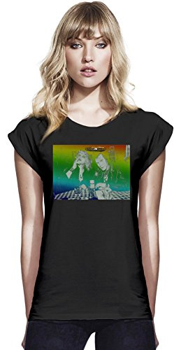Sid and Nancy Womens Continental Rolled Sleeve T-Shirt Small