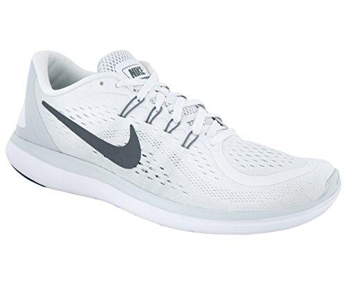 Platina Free Nike Rn løbsko Fitness Kul hvit Grå Kul Fitness Sko Forstand Ren c7e3a8
