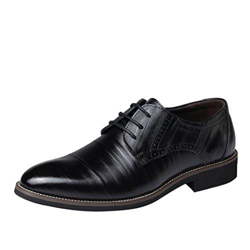 OYSOHE Schuhe Herren, Klassische Art Männer Beiläufige und Geschäfts Lederne Spitze Schuhe
