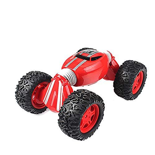 Ferngesteuertes RC Auto Spielzeug Auto Gblife 2,4 GHz 360° Drehung RC Racing Buggy Spiegeln Doppelseitiges Fahren High Speed Stunt Autos Spielzeug Geschenke für Kinder,Red