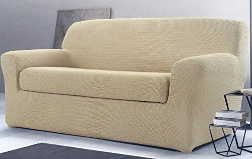 Copridivano Gabel Poncho Roma Duo Beige - Copridivano 2 posti (divano da 110 a 180 cm) - divGabel27