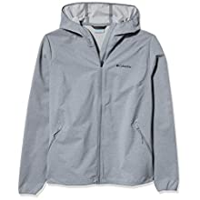 Columbia Women's Canyon Softshell Jacket, Tradewinds Grey Heather, XS