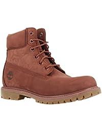 Amazon.es  Piel - Botas   Zapatos para mujer  Zapatos y complementos 90740e16ddda