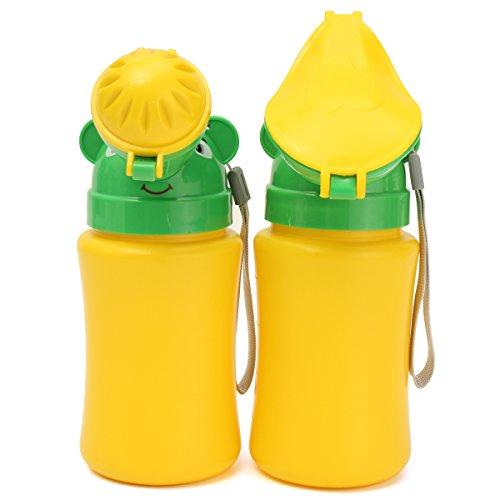 PeroFors Niedliche Tragbare Kleinkind Baby Travel Urinal Car Toilette Training Vehicular Potty-Boy