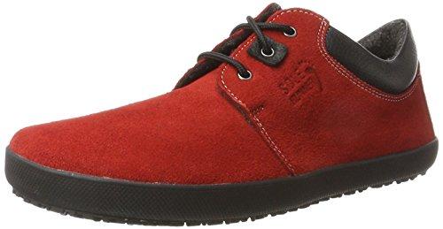 Sole Runner Unisex-Erwachsene Kari Derbys Rot (Red) 42 EU