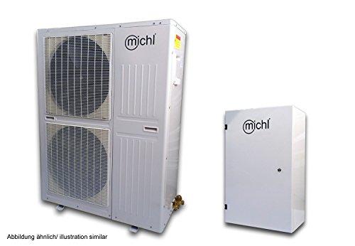 Michl DC Inverter Luft/-Wasser Wärmepumpe Split 15 kW